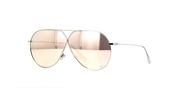 4fba1f949a Authentic Christian Dior Stellaire 3 010SQ Palladium Sunglasses  Amazon.ca   Clothing   Accessories