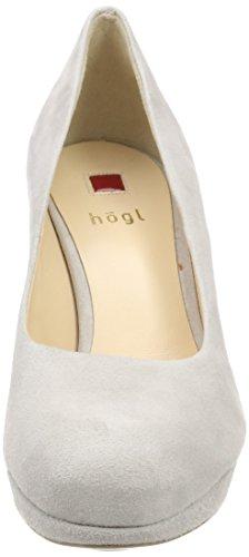 Högl 5-10 8002 6700, Scarpe con Tacco Donna Grigio (Lightgrey)