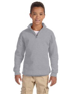 JERZEES 995YR - Nublend Youth Quarter-Zip Cadet Collar (Youth Quarter Zip Pullover)