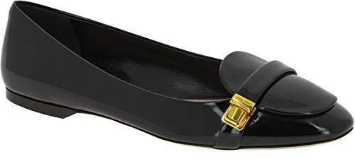 Miu Miu Patent Leather - Miu Miu Women's Black Patent Leather Ballerina Shoes - Size: 7.5 US