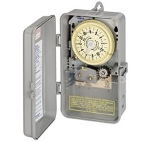 Intermatic T8805P101C Mechanical Cycle and Irrigation Timer Switch with 14 Day Skipper by Intermatic