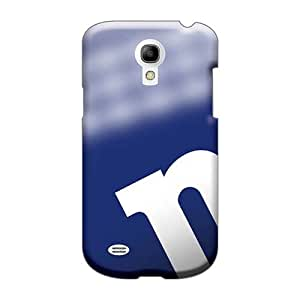 Anti-Scratch Hard Cell-phone Case For Samsung Galaxy S4 Mini With Support Your Personal Customized Colorful New York Giants Pattern ErleneRobinson