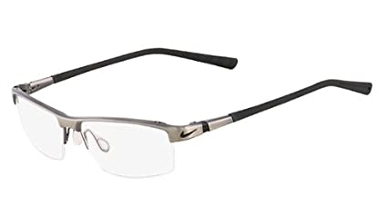 0c8055e0747 Image Unavailable. Image not available for. Color  NIKE Eyeglasses 6050 068  Brushed Dark Gunmetal 55MM