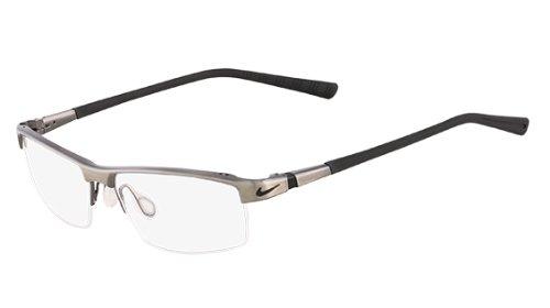 NIKE Eyeglasses 6050 068 Brushed Dark Gunmetal 55MM