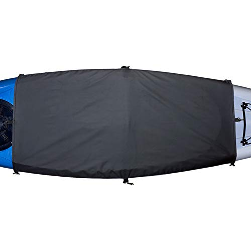Cockpit Seal - Explore Land Universal Kayak Cockpit Drape Waterproof Seal Cockpit Cover for Indoor and Outdoor (60 x 29 inch)