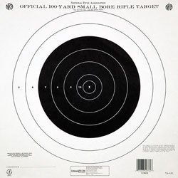 Champion-NRA-Paper-TQ-4P-100-yard-Single-Bullseye-to-Train-or-Qualify-Target-Pack-of-100