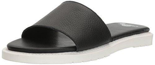 Dr. Martens Women's Cierra II Black Slide Sandal, 6 B UK (8 US)