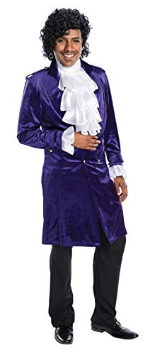Charades Men's Purple Edwardian Jacket, L-XL ()