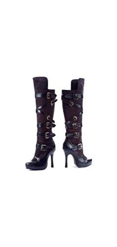 Boots Bandit Black - Women Costume Accessory - Size 8