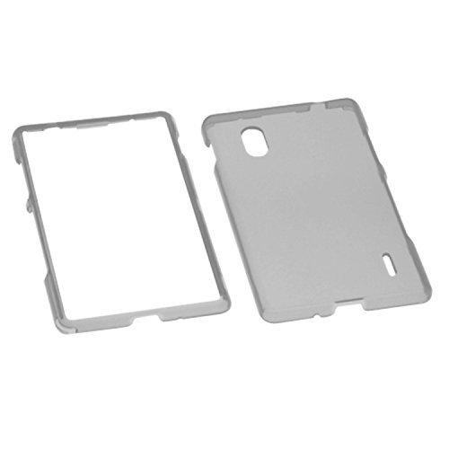 MYBAT LGE970HPCTR010NP Durable Transparent Case for LG Optimus G E970-1 Pack - Retail Packaging - Smoke