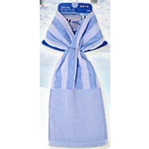 [해외]ECO de 쿨 시리즈 바로 머플러 쿨 스트라이프 블루 CLST-101 (BL) / ECO de cool series short muffler Cool stripe Blue CLST-101 (BL)