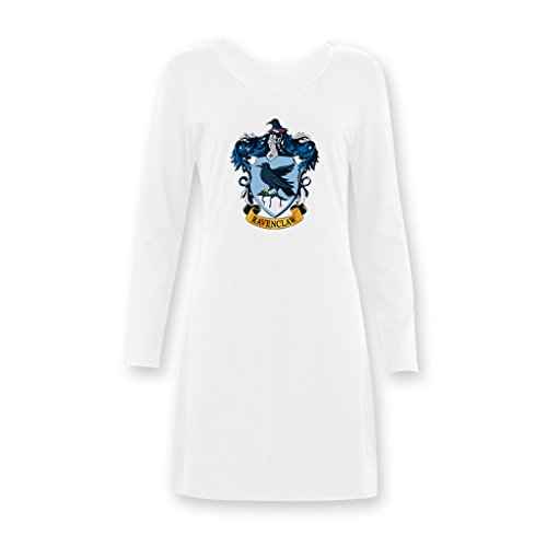 Jane Harry Potter Ravenclaw Academy Women's Girls Long Nightshirts XS-XXXL (Harry Potter Dressing Up)