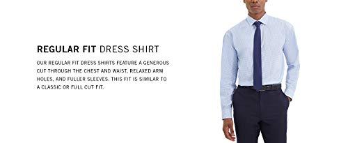Kenneth Cole Unlisted Men's Dress Shirt Regular Fit Solid 3