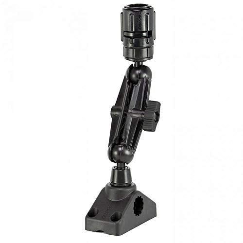 Scotty #152 Ball Mounting System with GearHead Adapter, Post and Side/Deck Mount