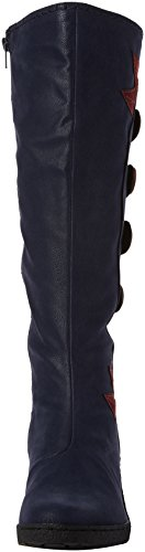 Joe Browns Funky And Fabulous Wedge Boots - Botas Mujer Azul (Blue)