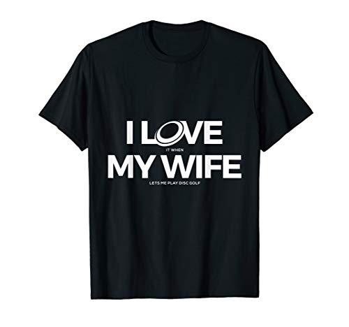 Funny Disc Golf T Shirt - Men - Disc Golf Love