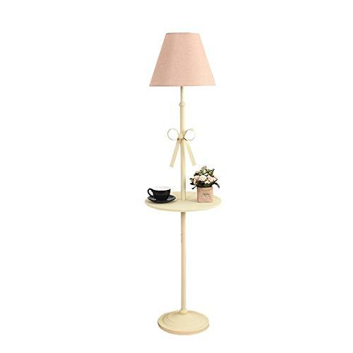 LXF Lampara de pie super brillante Almacenamiento creativo mesa de centro lampara de pie Sala de estar comedor habitacion de los ninos dormitorio interruptor de pie 160X40cm para salon, despacho y dor