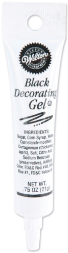 Wilton Black Gel Tube, 0.75 Oz.