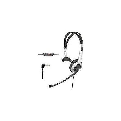Panasonic Hands-Free Foldable Headset with Volume Control & Mute Switch for Panasonic KX-TG6071B, KX-TG6072B, KX-TG6073B, KX-TG6074B 5.8 GHz Digital Cordless Phone Answering System by Panasonic