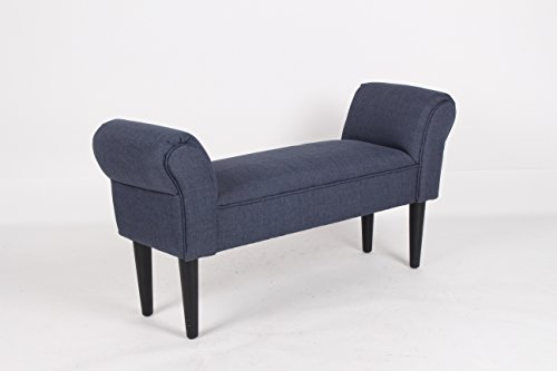 dark-grey-fabric-hallway-entryway-bed-upholstered-arm-bench-with-wooden-legs