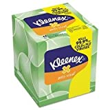 Kimberly-Clark Professional Facial Tissue, Anti-Viral, Upright, 68 Sht/BX, White
