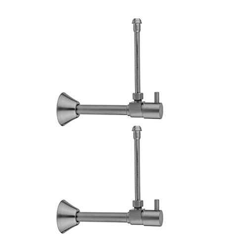 Jaclo 316-X-62-PEW 1//2 Copper Sweat Pewter x 3//8 OD Compression Standard Cross Lever Fit Extension Valve Kit