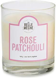 La Belle Meche Scented Soy Candle   Rose Patchouli