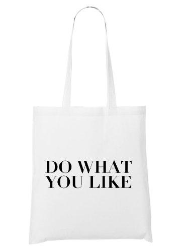 Do What You Like Bag White