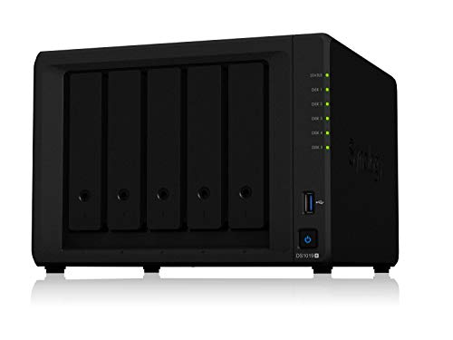 Synology 6 Bay NAS DiskStation – DS1618+ (Diskless) & Seagate IronWolf 4TB NAS Internal Hard Drive HDD – CMR 3.5 Inch…