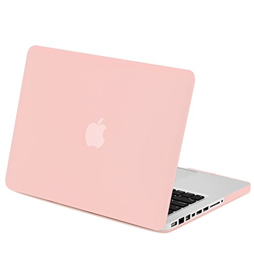 TOP CASE - Rubberized Hard Case Compatible with Apple Old Generation MacBook Pro 13-Inch (13