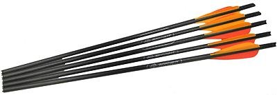 Barnett Outdoors Carbon Crossbow 20-Inch Arrows with Field Points (5 Pack), Outdoor Stuffs