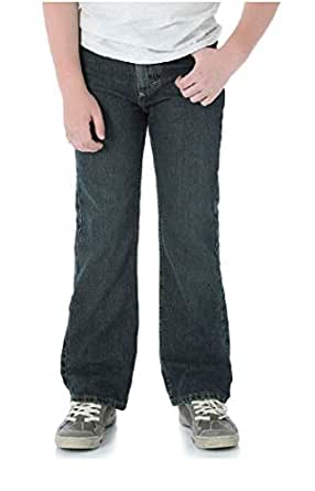 Wrangler Toddler Boys' Five Star Premium Denim Classic Boot Fit Jeans, Slim Fit (Medium Wash, 5 Slim)
