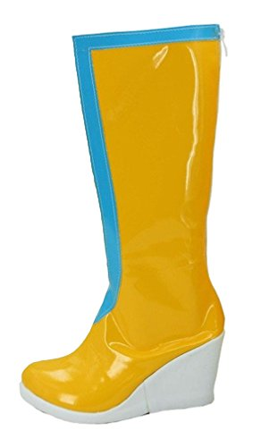 Bromeo Jojo's Bizarre Adventure 6 Anime Jolyne Kujo Cosplay Schuhe Stiefel Stiefeletten