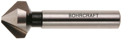 12,4 mm in QuadroPack 17000312475 Bohrcraft 75 Grad Kegelsenker HSS Form C 1 St/ück