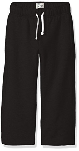 The Children's Place Baby Toddler Boys' Gym Uniform Fleece Pant, Black, 4T (Clothing Toddler Kids Black)