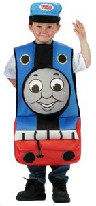 Disguise 100200 Thomas Engine Standard Costume Size: One-Size (4-6) (Thomas The Tank Engine Costume)