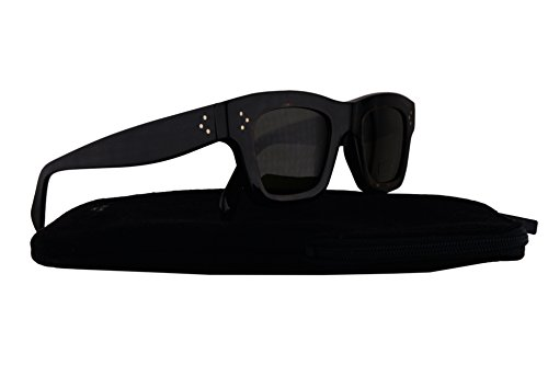 Celine CL41396/S Sunglasses Black Havana w/Brown Lens T7D70 CL - Original Black Celine Sunglasses
