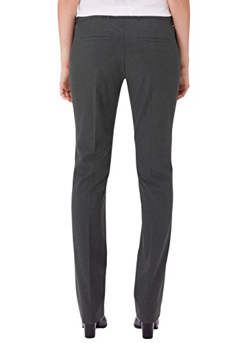 Pantalones pewter Smart oliver Melange Straight 79 S Gris Grey Mujer Para Cq0tgRw