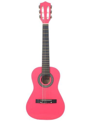 barcelona 36 inch 3 4 size nylon string classical acoustic guitar pink buy online in uae. Black Bedroom Furniture Sets. Home Design Ideas