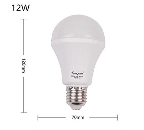 BLZLL lámparas led, bombilla de ahorro de energía e27,12W , white: Amazon.es: Iluminación