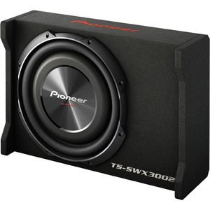 Pioneer TS-SWX3002 12″ Shallow-Mount Pre-Loaded Enclosure, Black, Mini-v308