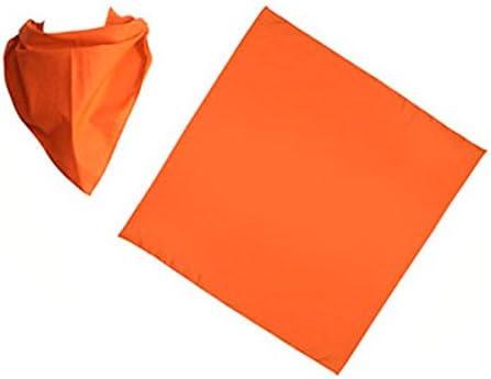 Let S Go Fiesta Pañuelo Naranja Para Peñas Liso Pack 6 Uds T17968 Amazon Es Juguetes Y Juegos