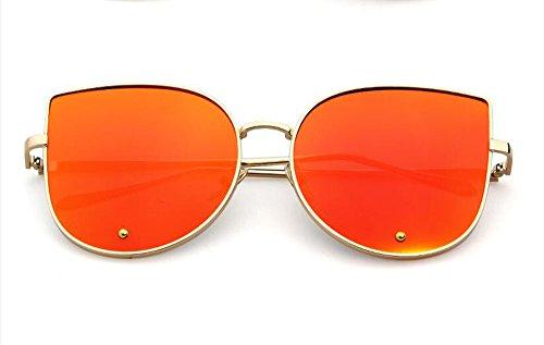 ADEWU - Lunette de soleil - Femme Or golden red