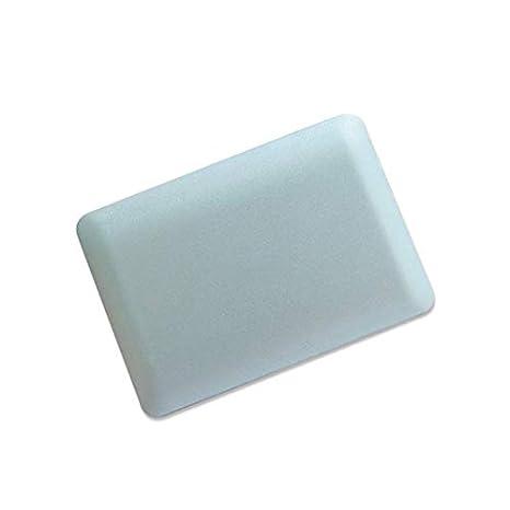 Wildlead Mini Portatile da La Forma del QUADERNO del specchio della in ABS Portatile per la bellezza del trucco del Viaggio bianco