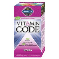 Vitamin Code Women's Raw Multi By Garden Of Life - 240 Vegetarian Capsules ( Multi-Pack)