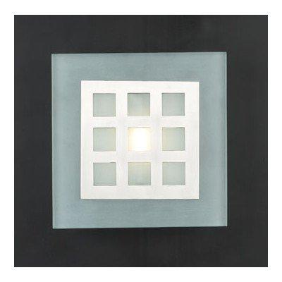 Bali 1 Light Wall Sconce - Acid Halogen Bathroom Frost Light