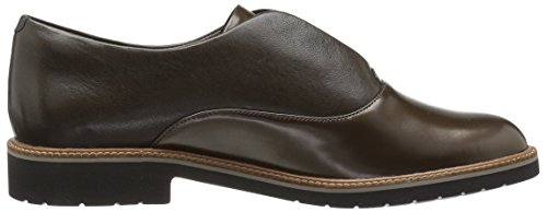 Rockette Da Donna Movimento Totale Abelle Slipon Oxford Brown / Metallic