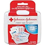 Johnson and Johnson Travel Size First Aid To Go Kit -- 48 per case.