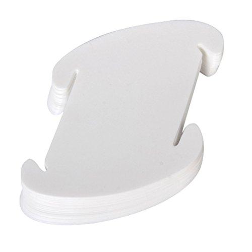 Pixnor Ceiling Pendant DIY IQ Jigsaw Puzzle Lamp Shade Kit - Size M (White)