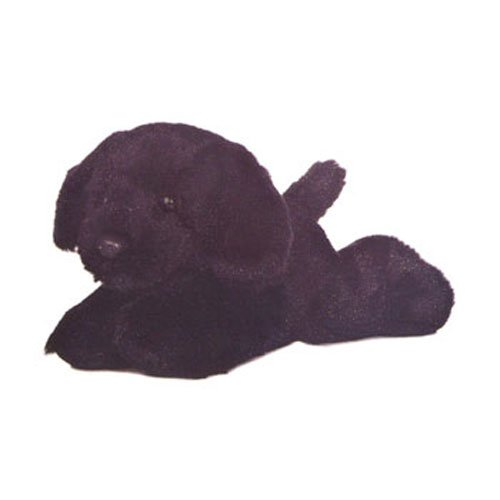 Aurora World Inc. Blackie Black Lab Mini Flopsie Plush, 8